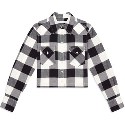 tekstylia Damskie Koszule Calvin Klein Jeans J20J212123 Czarny