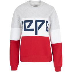 tekstylia Damskie Bluzy Pepe jeans PL580853 Czerwony