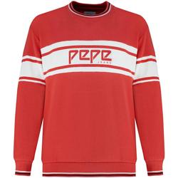 tekstylia Damskie Bluzy Pepe jeans PL580855 Czerwony