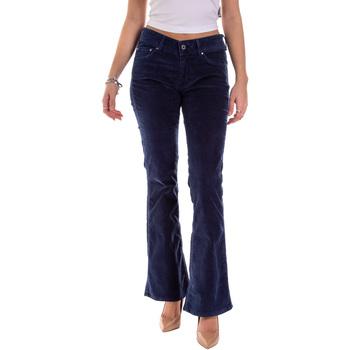 tekstylia Damskie Spodnie z pięcioma kieszeniami Pepe jeans PL211343YD52 Niebieski