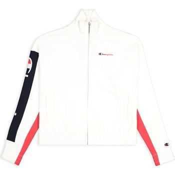 tekstylia Damskie Bluzy Champion 112145 Biały