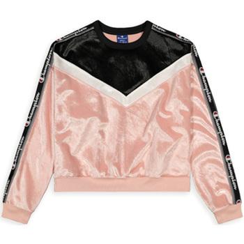 tekstylia Damskie Bluzy Champion 112276 Różowy