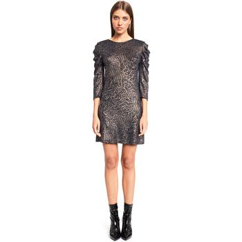 tekstylia Damskie Sukienki krótkie Denny Rose 921ND14002 Czarny