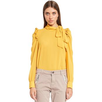 tekstylia Damskie Topy / Bluzki Denny Rose 921ND45001 Żółty