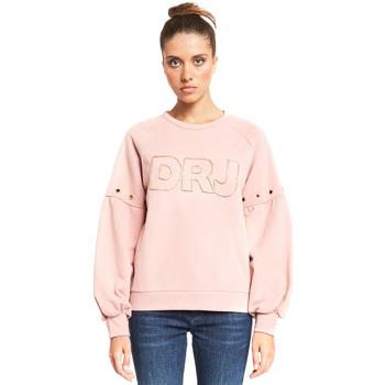 tekstylia Damskie Bluzy Denny Rose 921ND64018 Różowy