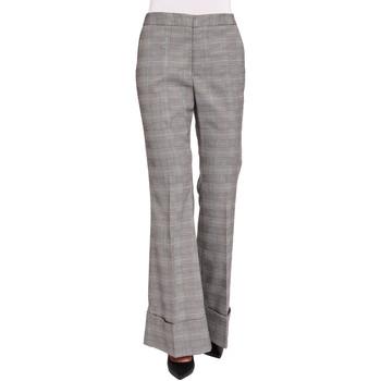 tekstylia Damskie Spodnie od garnituru  Gaudi 921FD25022 Czarny