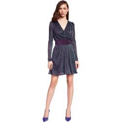 tekstylia Damskie Sukienki krótkie Gaudi 921FD14003 Niebieski