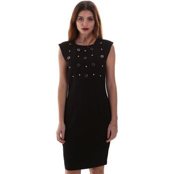 tekstylia Damskie Sukienki krótkie Gaudi 921FD15004 Czarny