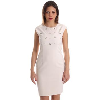 tekstylia Damskie Sukienki krótkie Gaudi 921FD15004 Beżowy