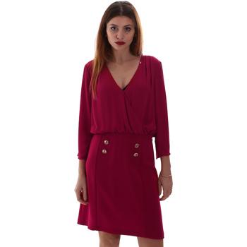 tekstylia Damskie Sukienki krótkie Gaudi 921FD15037 Różowy