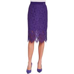 tekstylia Damskie Spódnice Gaudi 921FD75003 Fioletowy