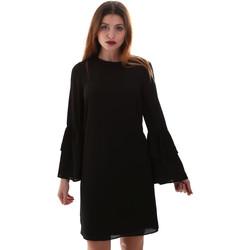tekstylia Damskie Sukienki krótkie Gaudi 921BD15025 Czarny