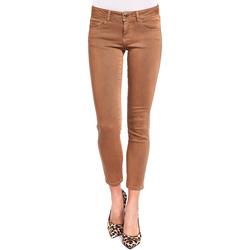 tekstylia Damskie Spodnie z pięcioma kieszeniami Gaudi 921BD25015 Brązowy