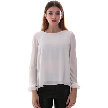 tekstylia Damskie Koszule Gaudi 921BD45023 Biały