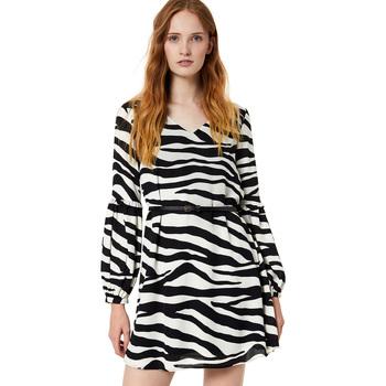 tekstylia Damskie Sukienki krótkie Liu Jo W69063 T5630 Czarny