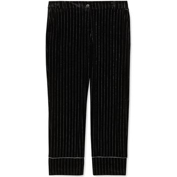 tekstylia Damskie Spodnie od garnituru  Liu Jo F69250 T4097 Czarny