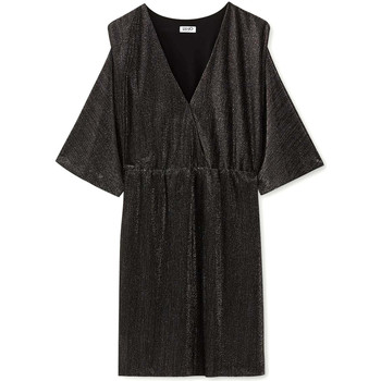 tekstylia Damskie Sukienki krótkie Liu Jo F69392 J5828 Czarny