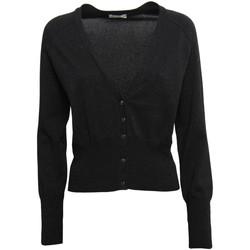 tekstylia Damskie Swetry rozpinane / Kardigany Nero Giardini A964560D Czarny