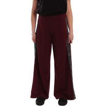 tekstylia Damskie Spodnie dresowe Ea7 Emporio Armani 6GTP63 TJ31Z Czerwony