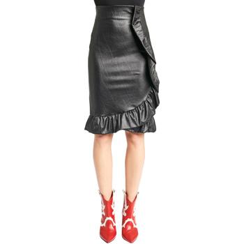 tekstylia Damskie Spódnice Denny Rose 921DD70003 Czarny