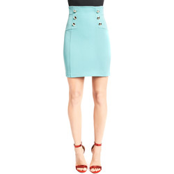 tekstylia Damskie Spódnice Denny Rose 921DD70013 Niebieski