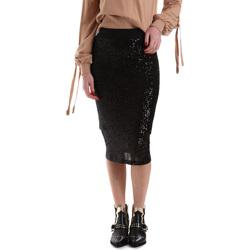 tekstylia Damskie Spódnice Denny Rose 921DD70017 Czarny