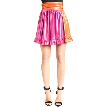 tekstylia Damskie Spódnice Denny Rose 921DD70018 Różowy