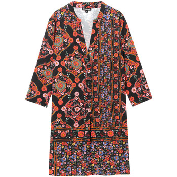 tekstylia Damskie Sukienki krótkie Desigual 19WWVW94 Czarny