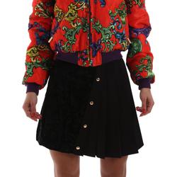 tekstylia Damskie Spódnice Versace A9HUB30505487899 Czarny