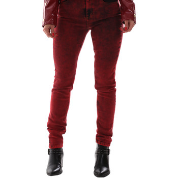 tekstylia Damskie Jeansy Versace A1HUB0Y0APW48537 Czerwony