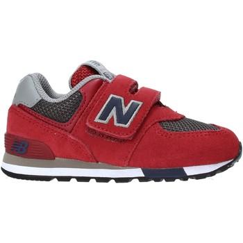 Buty Dziecko Trampki niskie New Balance NBIV574FNB Czerwony