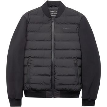 tekstylia Męskie Kurtki pikowane Calvin Klein Jeans K10K104901 Czarny