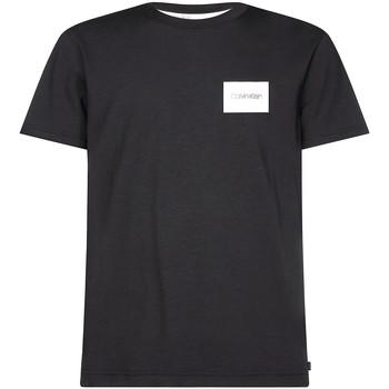 tekstylia Męskie T-shirty z krótkim rękawem Calvin Klein Jeans K10K104939 Czarny