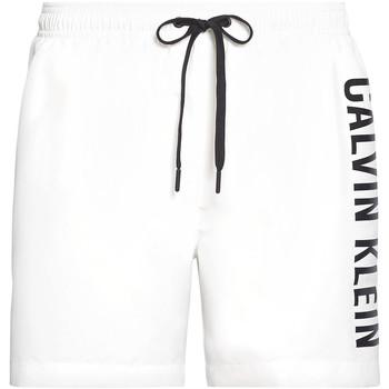tekstylia Męskie Kostiumy / Szorty kąpielowe Calvin Klein Jeans KM0KM00452 Biały