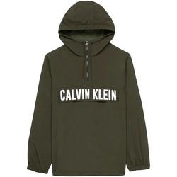 tekstylia Męskie Kurtki lekkie Calvin Klein Jeans 00GMH9O588 Zielony