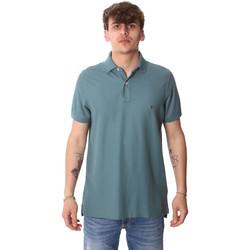 tekstylia Męskie Koszulki polo z krótkim rękawem Tommy Hilfiger MW0MW12569 Zielony