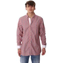 tekstylia Męskie Koszule z długim rękawem Tommy Hilfiger MW0MW12765 Różowy