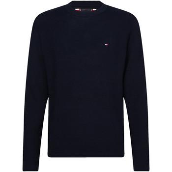 tekstylia Męskie Swetry Tommy Hilfiger MW0MW13122 Niebieski