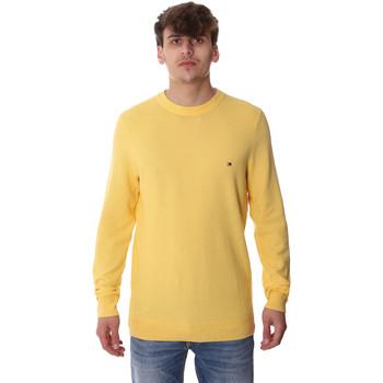 tekstylia Męskie Swetry Tommy Hilfiger MW0MW13122 Żółty