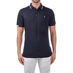 tekstylia Męskie Koszulki polo z krótkim rękawem Navigare NV82113 Niebieski