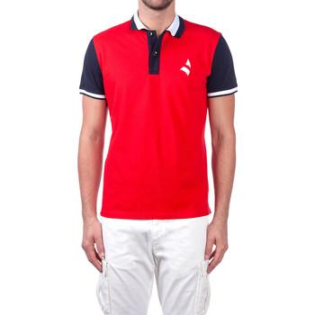 tekstylia Męskie Koszulki polo z krótkim rękawem Navigare NV82115 Czerwony
