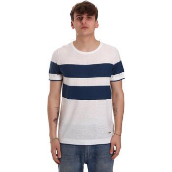 tekstylia Męskie T-shirty z krótkim rękawem Gaudi 011BU53023 Beżowy