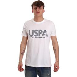 tekstylia Męskie T-shirty z krótkim rękawem U.S Polo Assn. 57197 49351 Biały