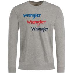 tekstylia Męskie Bluzy Wrangler W6A5HAX37 Szary
