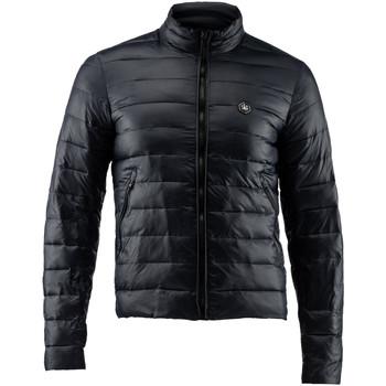 tekstylia Męskie Kurtki pikowane Lumberjack CM68722 004 405 Czarny