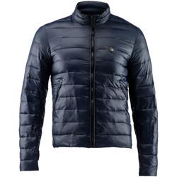 tekstylia Męskie Kurtki pikowane Lumberjack CM68722 004 405 Niebieski