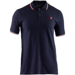 tekstylia Męskie Koszulki polo z krótkim rękawem Lumberjack CM45940 009 506 Niebieski