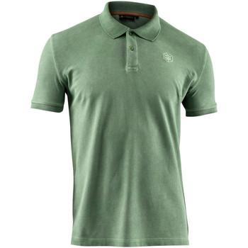 tekstylia Męskie Koszulki polo z krótkim rękawem Lumberjack CM45940 007 516 Zielony
