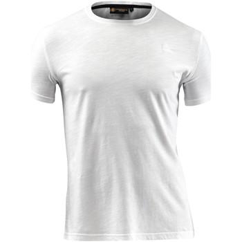 tekstylia Męskie T-shirty z krótkim rękawem Lumberjack CM60343 004 517 Biały