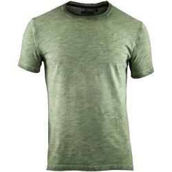 tekstylia Męskie T-shirty z krótkim rękawem Lumberjack CM60343 004 517 Zielony